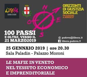 Le mafie in Veneto nel tessuto economico e imprenditoriale